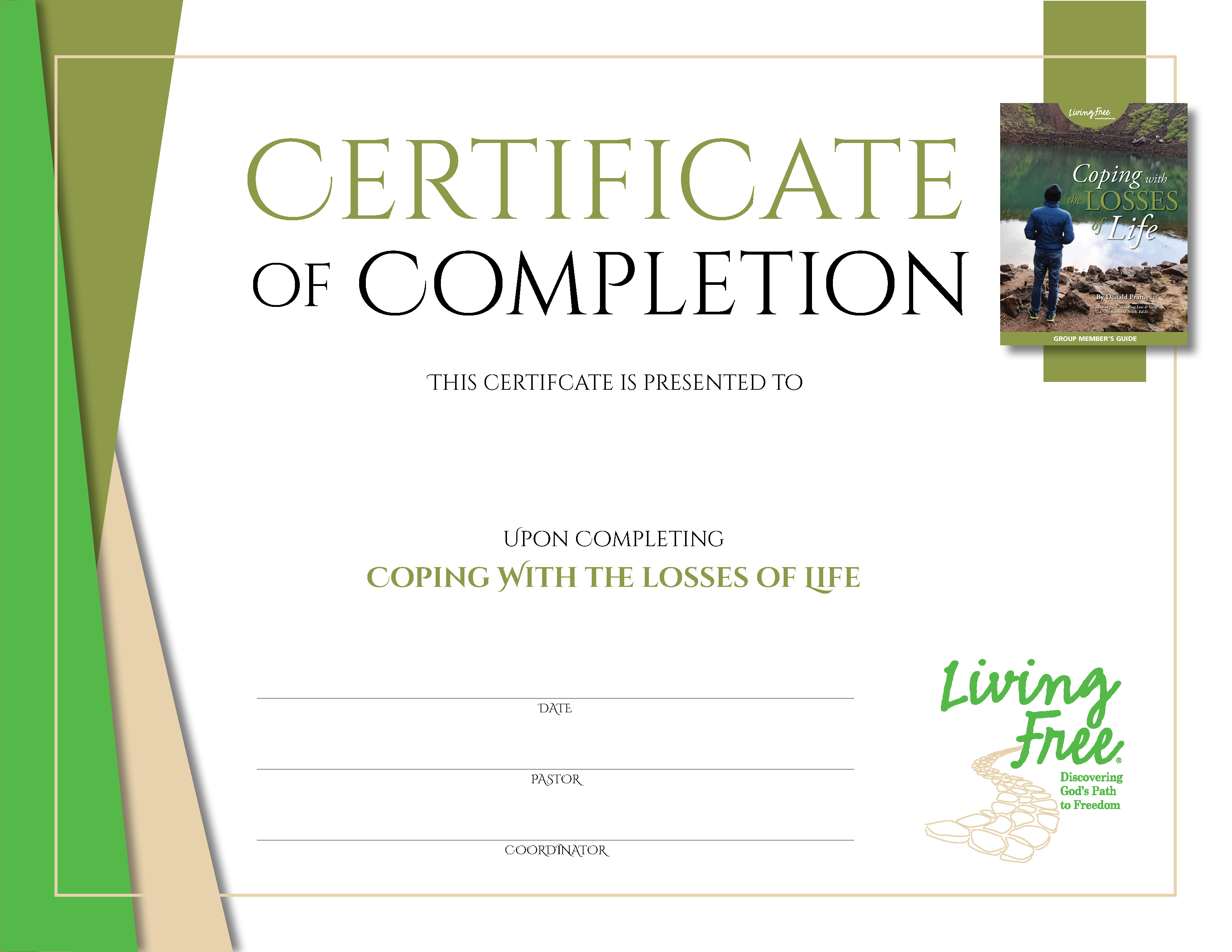 Coping with the Losses of Life Certificate